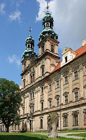 Lubiąż Abbey - The abbey church of St Mary