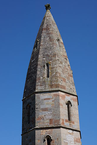 St Michael the Archangel, Llanyblodwel - The unusual domical spire