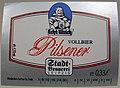 Stadt-Brauerei Leipzig, Echt Ulrich Pilsner Etikett.jpg