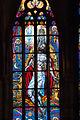 Stained-glass pattern, Saint Vitus Cathedral. Prague, Czech Republic, Western Europe. Jaunuary 8, 2014-8.jpg