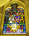 Stained glass windows in Crypt, Guildhall, City of London (8).jpg
