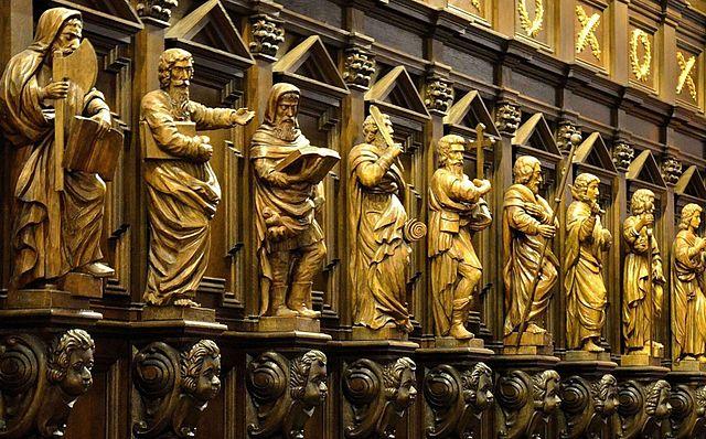 Intérieur de la cathédrale Saint Jean de Varsovie - Photo d'Adrian Grycuk