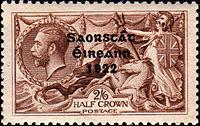 Stamp irl 1922 2N6se
