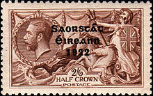 A Invoice Excel Postage Stamps Of Ireland  Wikipedia Hp A799 Receipt Printer Excel with Receipt Scanning App Word Irish Free State Threeline Overprint Saorstt Ireann  On  King  George V Stamp Engraved By Jac Harrison Bixolon Receipt Printer Word