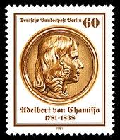 60-Pf-Sondermarke der Bundespost Berlin (1981) zum 200.Geburtstag (Quelle: Wikimedia)