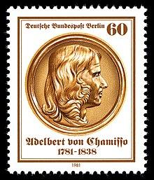 60-Pf-Sondermarke der Bundespost Berlin (1981) zum 200. Geburtstag (Quelle: Wikimedia)