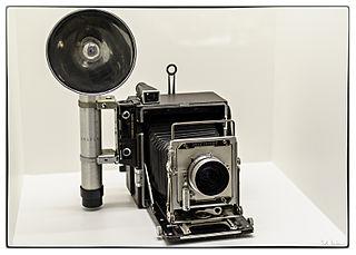 Press camera medium or large format camera