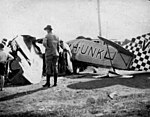 StateLibQld 2 197655 Crash of the aeroplane, the Star of Cairns at Maryborough, Queensland, 31 December 1930.jpg