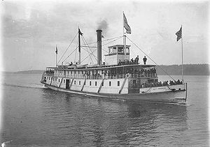 State of Washington (sternwheeler) - Image: State of Washington (sternwheeler) 1895