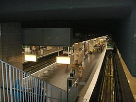 Image illustrative de l'article Gallieni (métro de Paris)