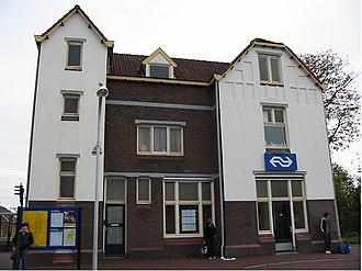 Hardenberg - Image: Station Hardenberg 20061030