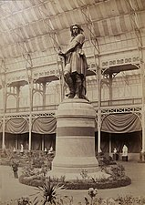 Statue de Vercingetorix au Salon de 1865 (Charles Marville).jpg