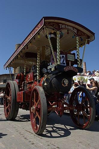 Richard Garrett & Sons - Garrett showman's engine The Rambler