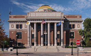 Stearns County Courthouse historic courthouse in Saint Cloud, Minnesota, USA