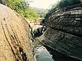 Steep cliffs in Wannian Canyon.jpg