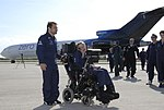 Stephen Hawking at Kennedy Space Center KSC-07pd-0964.jpg