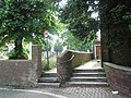 Steps up to the eastern entrance to Church Path - geograph.org.uk - 824027.jpg