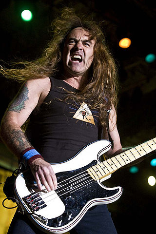 Steve Harris (Bassist)