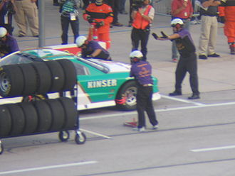 Steve Kinser - Kinser in a 2006 IROC race at Texas