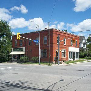 Stevensville, Ontario - Image: Stevensville ON Streetcorner