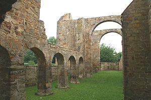 Walbeck, Börde - Church nave