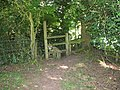 Stile on the Gloucestershire Way near Boughspring - geograph.org.uk - 522754.jpg