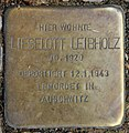Stolperstein Danckelmannstr 44 (Charl) Lieselott Leibholz.jpg
