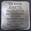 Stolperstein für Jeanette Falkenstein