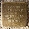 Stolperstein Gartenstr 114 (Mitte) Julius Katzky.jpg