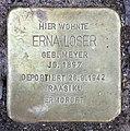 Stolperstein Hektorstr 4 (Halsee) Erna Loser.jpg