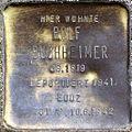 Stumbling block for Rolf Buchheimer (Alteburger Straße 11)