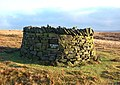 Stone shelter on Crook Hill - geograph.org.uk - 100842.jpg