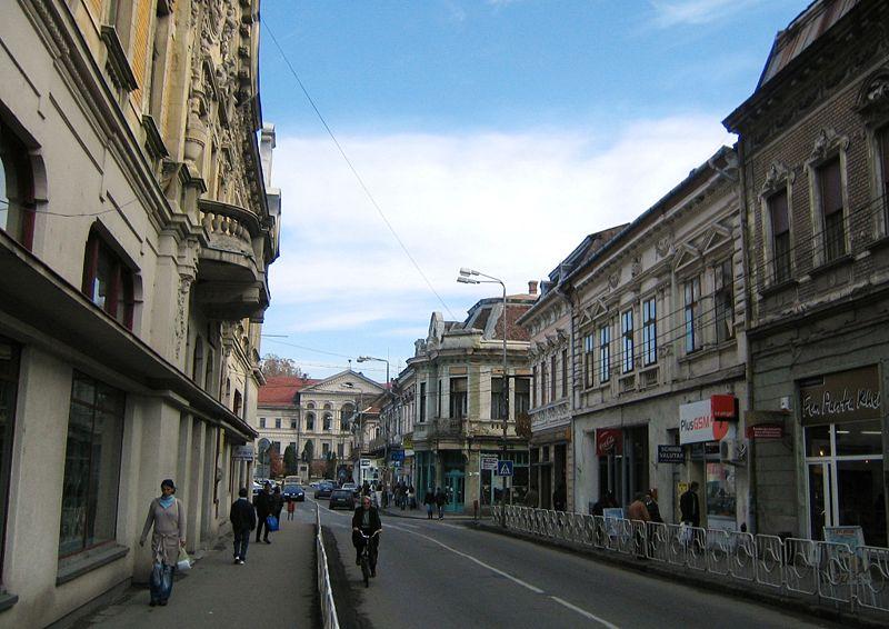 Fişier:Strada Principala Lugoj.jpg