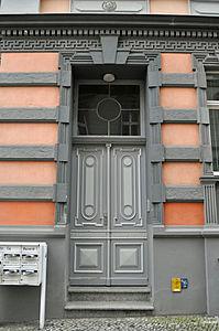 Stralsund, Fährstraße 14, Tür (2012-03-11), by Klugschnacker in Wikipedia.jpg