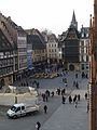 Strasbourg-Place de la Cathédrale depuis le Cabinet des Estampes.jpg
