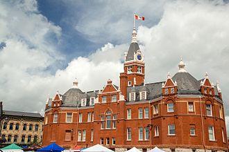 Stratford, Ontario - City Hall in Stratford, Ontario, Canada