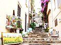 Street stairs Taormina Sicilia Italy - Creative Commons by gnuckx (3667593190).jpg