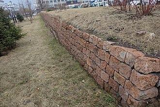 Gungnae - Image: Stretch of Gungnae Fortress Wall (Guo Nei Fortress)