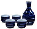 Stripes blue white sake 4cup.jpg