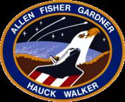 Missionsemblem STS-51-A