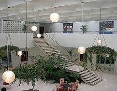 Atrium, Stuart Pharmaceutical Co., Pasadena, California (1956)