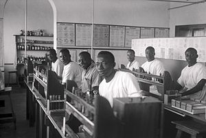 Évolué - Évolués in the Belgian Congo studying medicine.