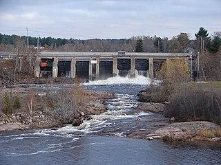 Sturgeon River (Lake Nipissing) river in Ontario, Canada, draining into Lake Nipissing