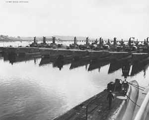 Submarines at Mare Island Reserve Fleet on 28 September 1950.jpg