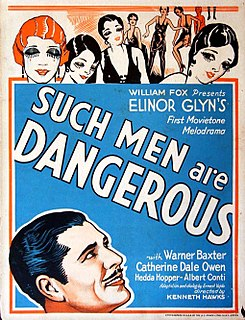 <i>Such Men Are Dangerous</i> 1930 film by Kenneth Hawks
