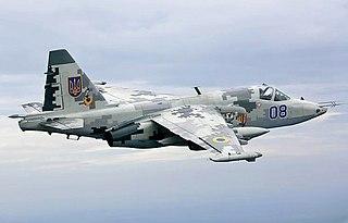 Sukhoi Su-25 family of attack aircraft