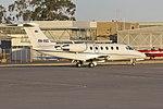 Sundyne Pty Ltd (VH-SSZ) Cessna 650 Citation III taxiing at Wagga Wagga Airport 4.jpg