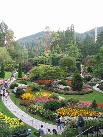 Greater Victoria - Victoria's world-famous Butchart Gardens are actually located in Central Saanich