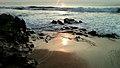 Sunrise time at Bheemunipatnam beach3.jpg