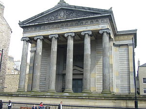 Surgeons' Hall - Image: Surgeons' Hall, Nicolson Street, Edinburgh